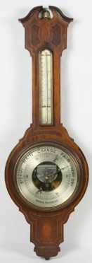 """English Aneroid Barometer, """"T.A. Reynolds & Co. London"""""""