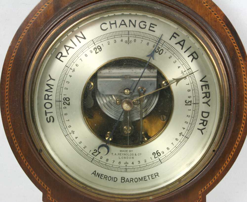 English Aneroid Barometer Quot T A Reynolds Amp Co London Quot