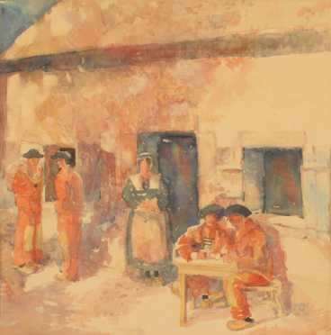 Harry Alan Weston, watercolor