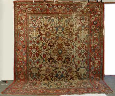 Mahal Room Size Oriental Rug