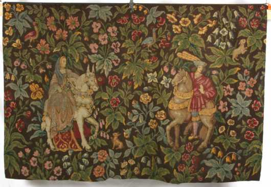 Continental Petit Point and Quilted Tapestry