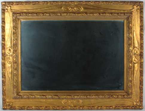 Continental Gesso on Wood Frame mirror