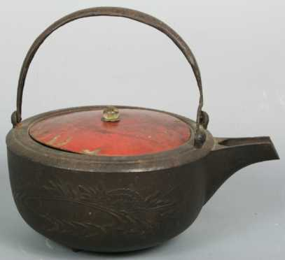 Japanese Cast Iron Hot Water Vessel