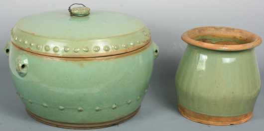 Chinese Pottery, 2 pieces