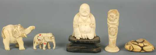 Chinese Ivory Carvings