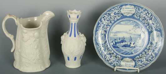 Lot of Three Porcelain items