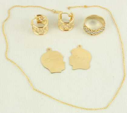 Lot of Yellow Gold jewelry