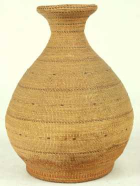 Northwest Coast Native American Basket