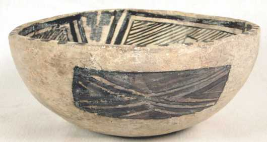 Mimbres Decorated Bowl