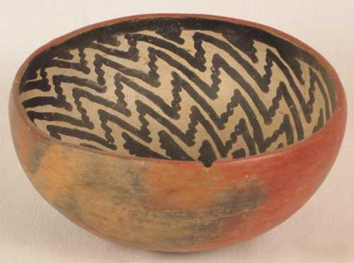 Tanto Decorated Bowl