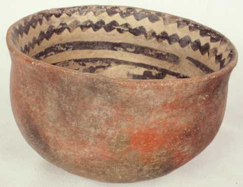 Tanto Black and White Bowl