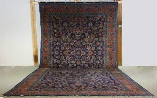 Meshed Room Size Oriental Rug
