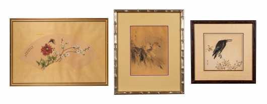 Three Chinese Works of Art