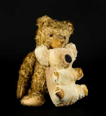 "Vintage German Cone Nose 19"" Bear along with Koala Bear"
