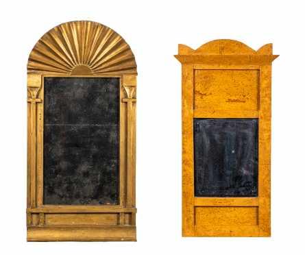 Two Swedish Biedermeier 19thC Mirrors