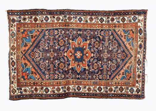 Hamadan Oriental Scatter Size Rug