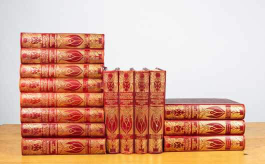 Swedish Encyclopedia in Decorative Binding
