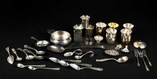 Coin and Sterling Silver Lot