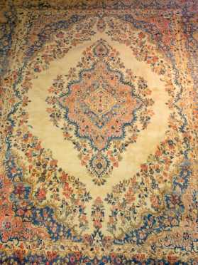 Persian Kerman Mid 20thC Room Size Oriental Rug