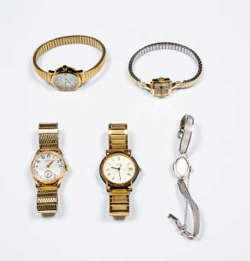 Lot of Five Watches