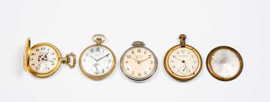 Lot of Four Pocket Watches