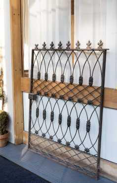 Single Wrought Iron Gate