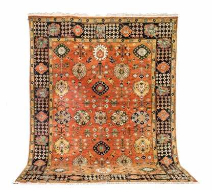 Mid 20thC Heriz Style Room Size Oriental Rug