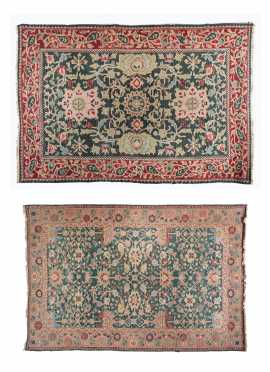 Two Oriental Style Rugs
