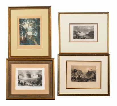 Four Miscellaneous Prints