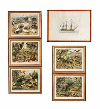 Six Miscellaneous Prints