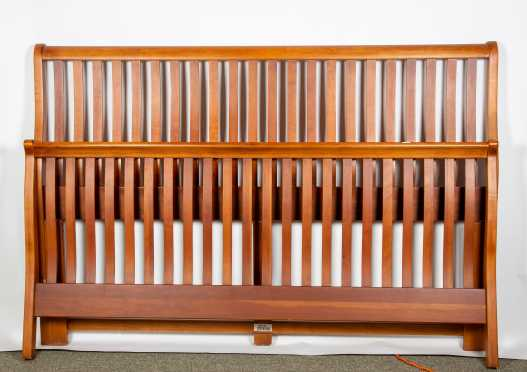 Mission Style California King Size Bed