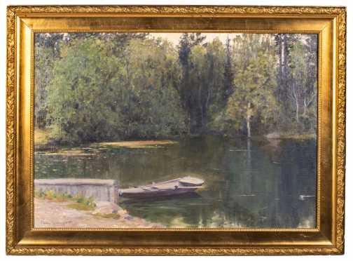 20thC Swedish Landscape Painting