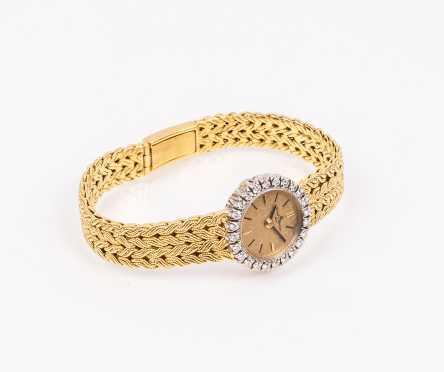 Baume and Mercier 18K Diamond Ladies Watch