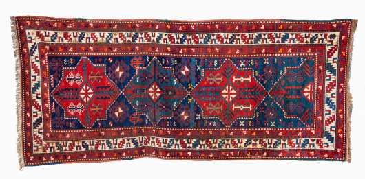 E20thC Kazak Runner Size Oriental Rug