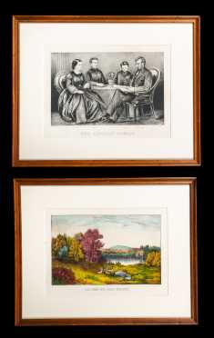 Two Currier and Ives Engravings