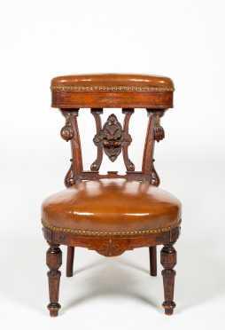 English Smoking Chair