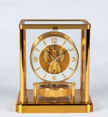 Jaeger LeCoultre Atmos Perpetual Motion Mantel Clock