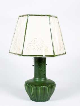 Hampshire Pottery Lamp