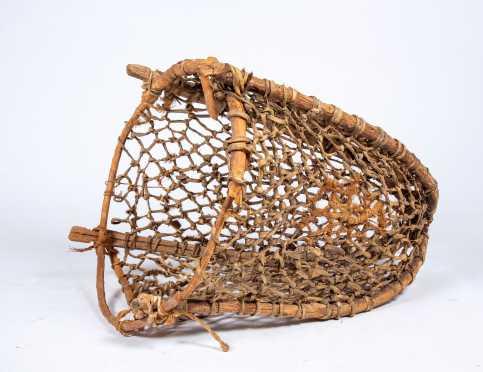 E20thC Native American Fish Basket Net