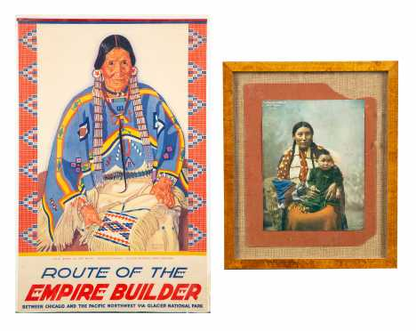 Two Pieces Native American Ephemera