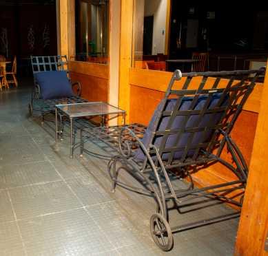 """""""Brown Jordan"""" Florentine Three Piece Outdoor Furniture"""