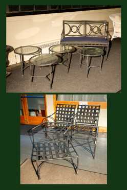 """""""Brown Jordan"""" Florentine Ten Pieces Outdoor Furniture"""