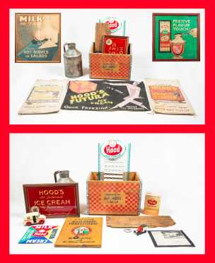 Large Miscellaneous Hood Family Advertising Items