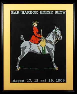 Bar Harbor Horse Show Poster 1909