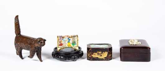 Five E20thC Oriental Objects
