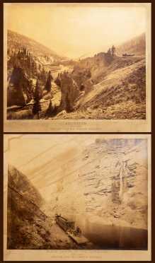 Two 1880's Photographs,  Denver & Rio Grande Railway, Colorado