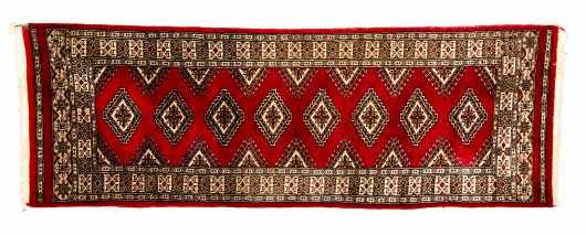 Pakistani Bokhara Runner Oriental Rug