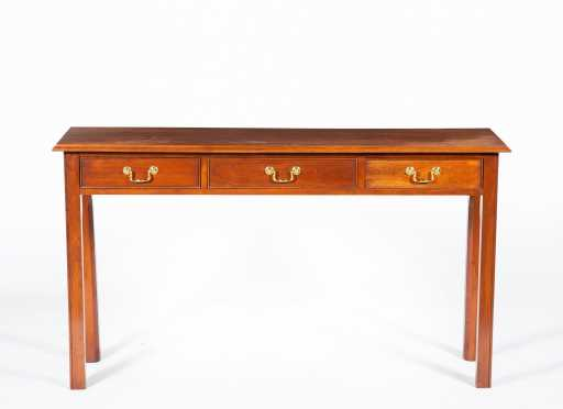 Reproduction Cherry Buffet Table