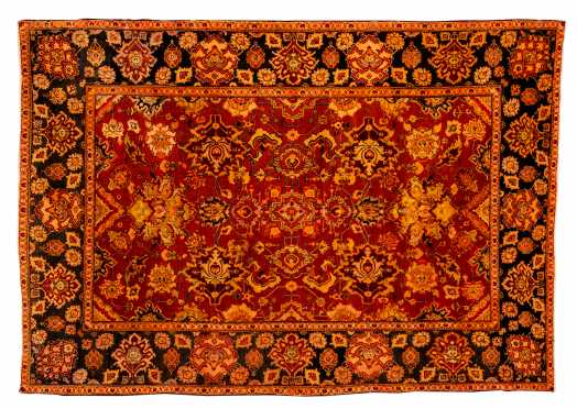 """""""Agra"""" Small Room Size Oriental Rug"""