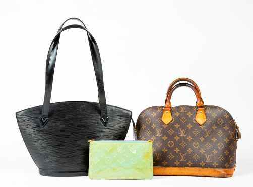 Three Louis Vuitton Handbags